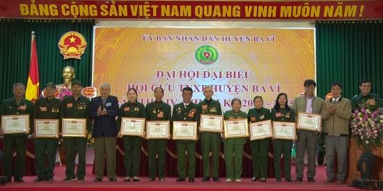 Đại hội Cựu thanh niên xung phong huyện Ba Vì lần thứ IV