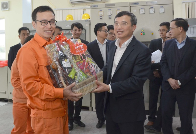Lãnh đạo Bộ Công Thương kiểm tra công tác cung ứng điện dịp Tết