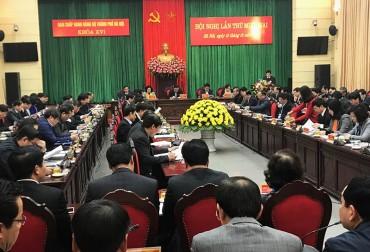Khai mạc Hội nghị lần thứ 12 Ban Chấp hành Đảng bộ TP Hà Nội (khóa XVI)