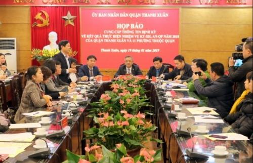 Quận Thanh Xuân: Kinh tế tăng trưởng, đảm bảo an sinh xã hội