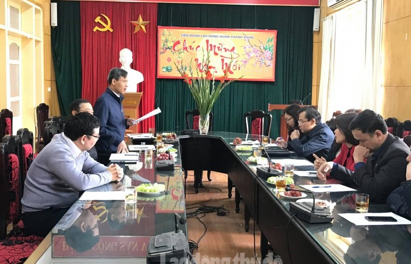 LĐLĐ quận Thanh Xuân: Nâng cao công tác tuyên truyền phòng, chống dịch