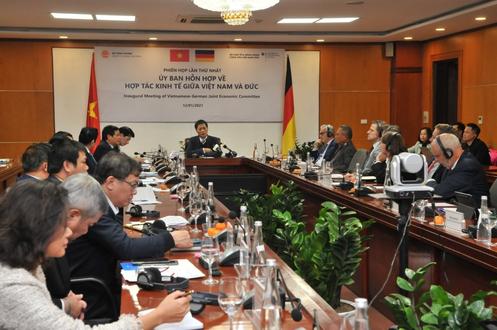 Việt Nam – Cộng hòa Liên bang Đức tăng cường hợp tác kinh tế
