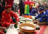 Quận Thanh Xuân: Rộn ràng Ngày hội gói bánh chưng