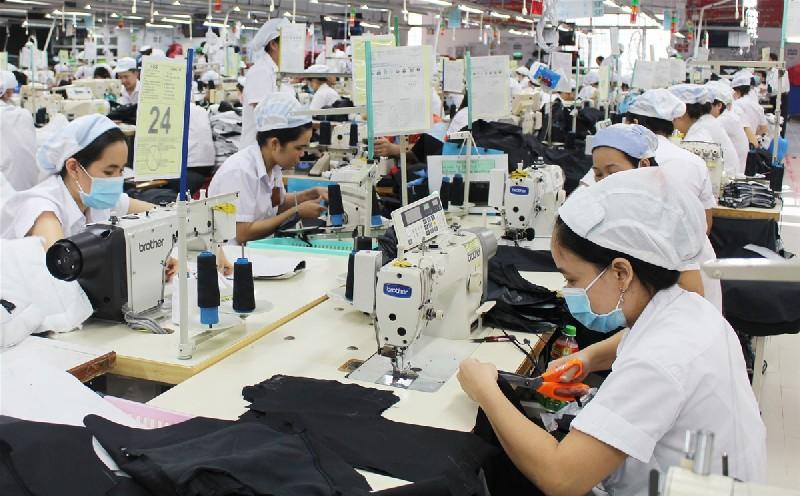 Kim ngạch xuất khẩu ngành dệt may tháng 1đạt 2,3 tỷ USD