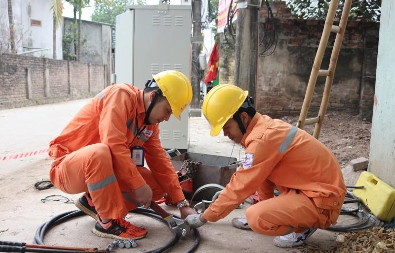 EVN Hà Nội: Rộn ràng những công trình đầu xuân 2019