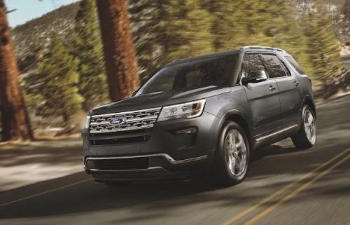 Ford Explorer có mức giá bán mới gần 2 tỉ đồng