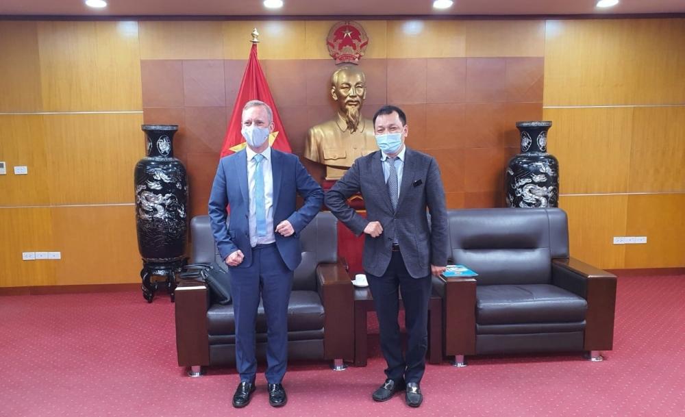Việt Nam - Vương quốc Anh tăng cường hợp tác trong vấn đề năng lượng và thương mại