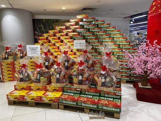 Giá các mặt hàng lương thực tăng nhẹ ngày cận Tết