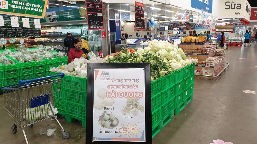 Vận động đơn vị, doanh nghiệp hỗ trợ Hải Dương, Quảng Ninh tiêu thụ nông sản