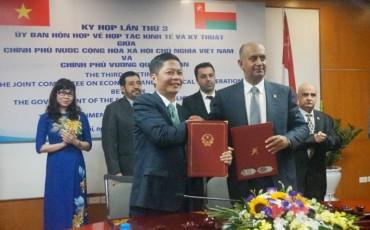 Việt Nam – Ô man ký kết nhiều văn kiện hợp tác quan trọng