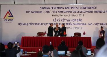 Họp báo công bố kết quả Hội nghị Cấp cao CLV10