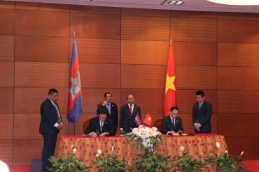 Việt Nam – Campuchia đạt thỏa thuận về phân giới cắm mốc