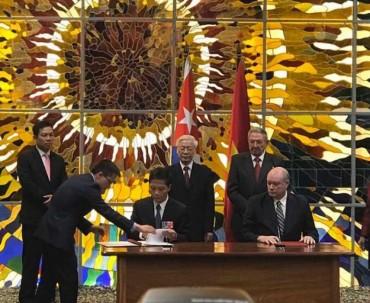 Việt Nam – Cuba ký kết Hiệp định thương mại mới
