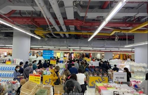Các doanh nghiệp tăng cường nguồn cung mặt hàng thiết yếu cho Hà Nội