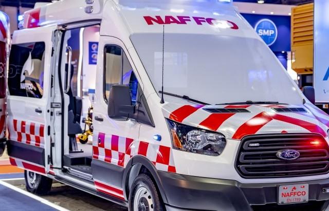 Ford Transit: Lựa chọn hàng đầu của các doanh nghiệp cung cấp dịch vụ cứu thương tại Trung Đông