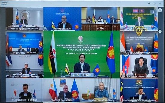 Hội nghị Bộ trưởng Kinh tế ASEAN hẹp lần thứ 27 thông qua 10 sáng kiến