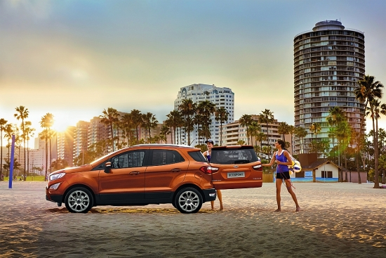 Ford EcoSport: Ngôn ngữ thiết kế thực dụng mang đến trải nghiệm thân thiện