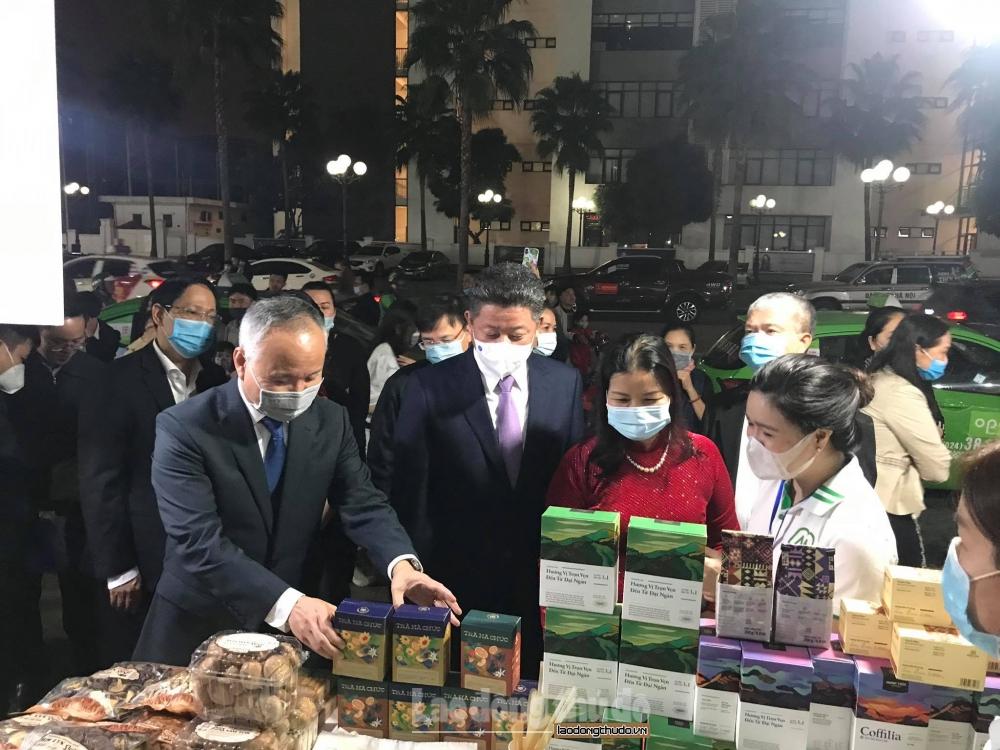 Hà Nội: 120 gian hàng tham gia Hội chợ hàng hóa, sản phẩm vì người tiêu dùng