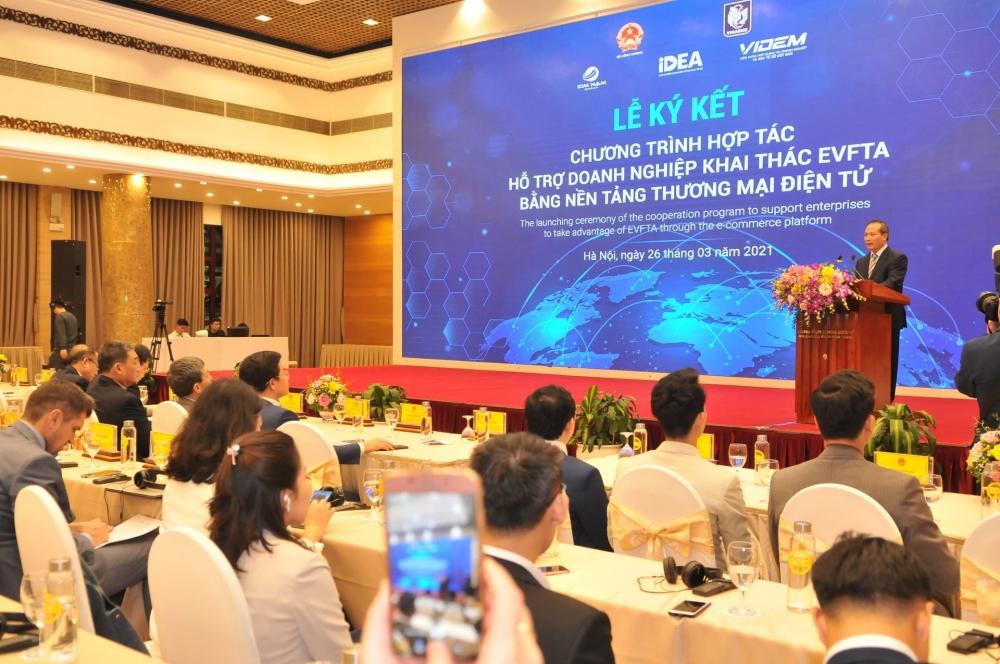 Đón đầu cơ hội EVFTA mang lại qua nền tảng thương mại điện tử