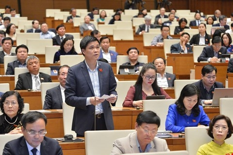 Đại biểu Ngọ Duy Hiểu (đoàn Hà Nội): Chính phủ đã trở thành biểu tượng của niềm tin, đoàn kết dân tộc