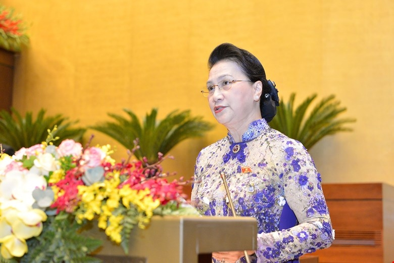 Miễn nhiệm chức danh Chủ tịch Quốc hội với bà Nguyễn Thị Kim Ngân