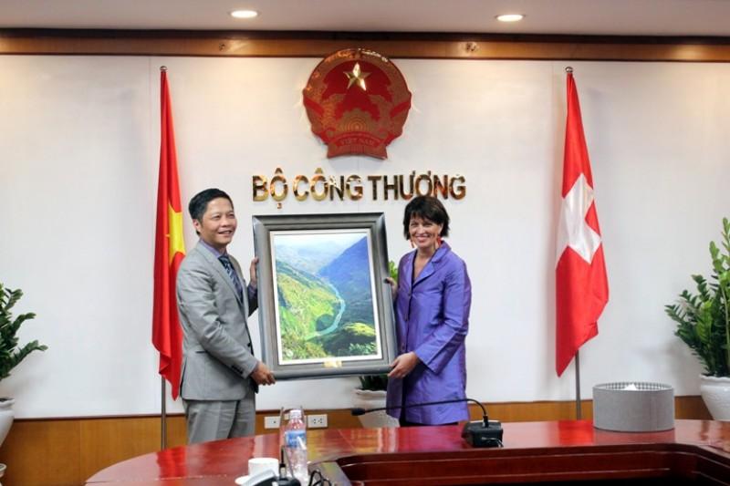 Tăng cường quan hệ ngoại giao giữa Việt Nam – Thụy Sỹ