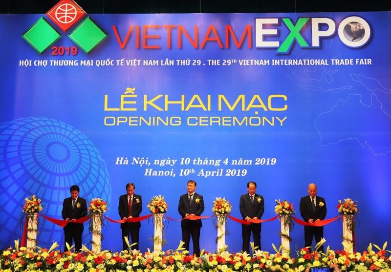 khai mac hoi cho thuong mai quoc te vietnam expo 2019
