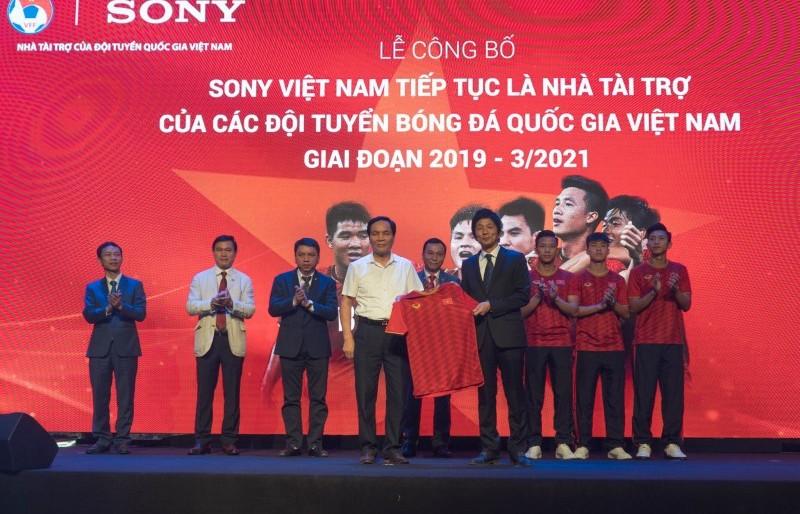 Sony tiếp tục là Nhà tài trợ cho các Đội tuyển bóng đá Quốc gia Việt Nam