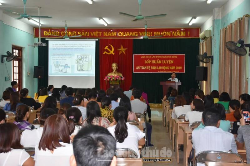140 hoc vien tham gia tap huan an toan ve sinh lao dong nam 2019