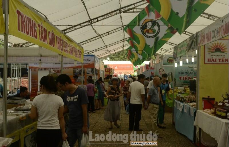 """Hà Nội đẩy mạnh xây dựng điểm bán hàng cố định """"Tự hào hàng Việt"""""""