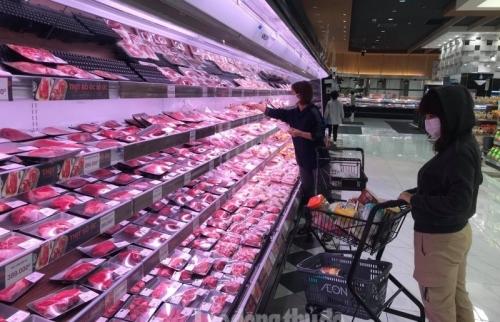 Giải bài toàn phân phối lợi nhuận đối với thịt lợn