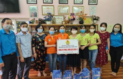 LĐLĐ quận Thanh Xuân: Hỗ trợ đoàn viên, người lao động bị ảnh hưởng bởi dịch Covid-19