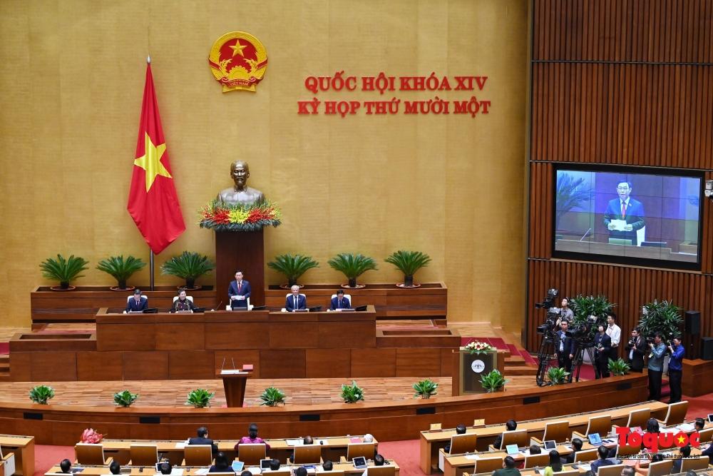 Chủ tịch nước trình Quốc hội miễn nhiệm Thủ tướng Chính phủ với ông Nguyễn Xuân Phúc
