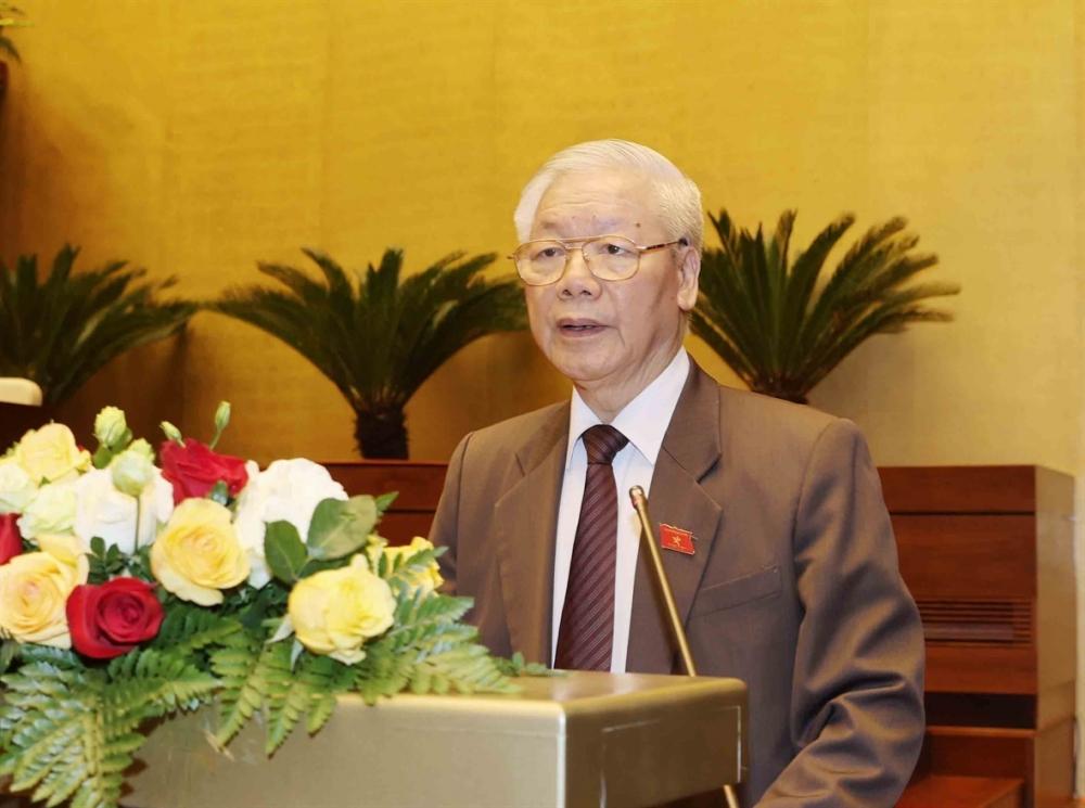 Chiều nay (2/4), Quốc hội tiến hành quy trình miễn nhiệm Chủ tịch nước Nguyễn Phú Trọng