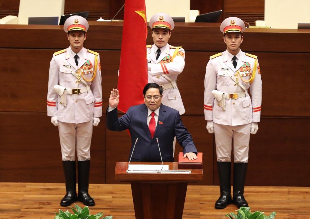 Ông Phạm Minh Chính trở thành tân Thủ tướng Chính phủ