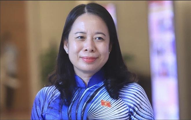 Bà Võ Thị Ánh Xuân trở thành tân Phó Chủ tịch nước