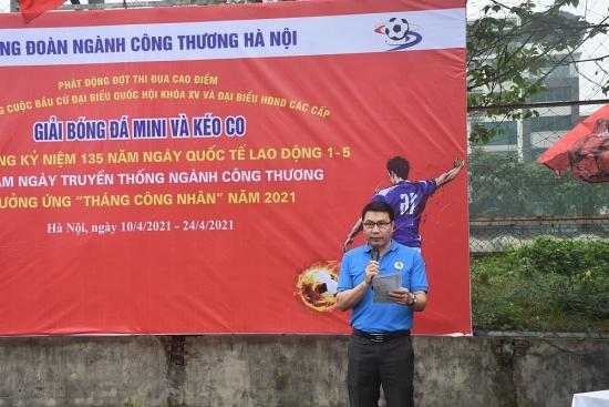 Công đoàn Công Thương Hà Nội phát động đợt thi đua cao điểm hưởng ứng Tháng công nhân năm 2021