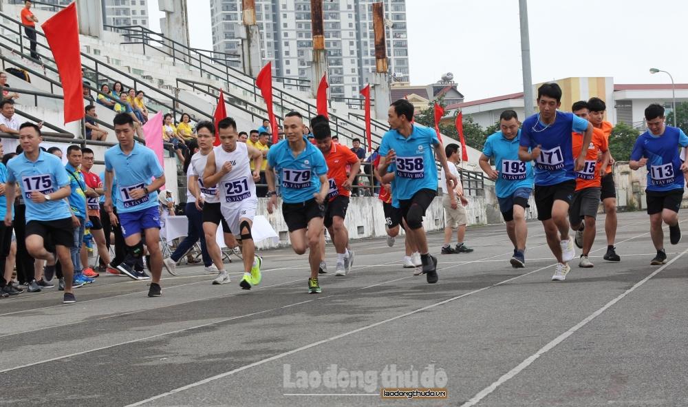 Tưng bừng Hội thao công nhân viên chức lao động EVN Hà Nội năm 2021