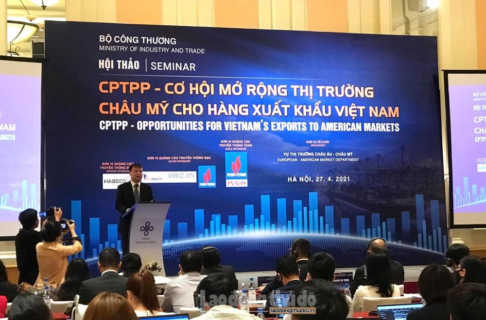CPTPP và cơ hội cho hàng Việt xuất khẩu vào thị trường châu Mỹ