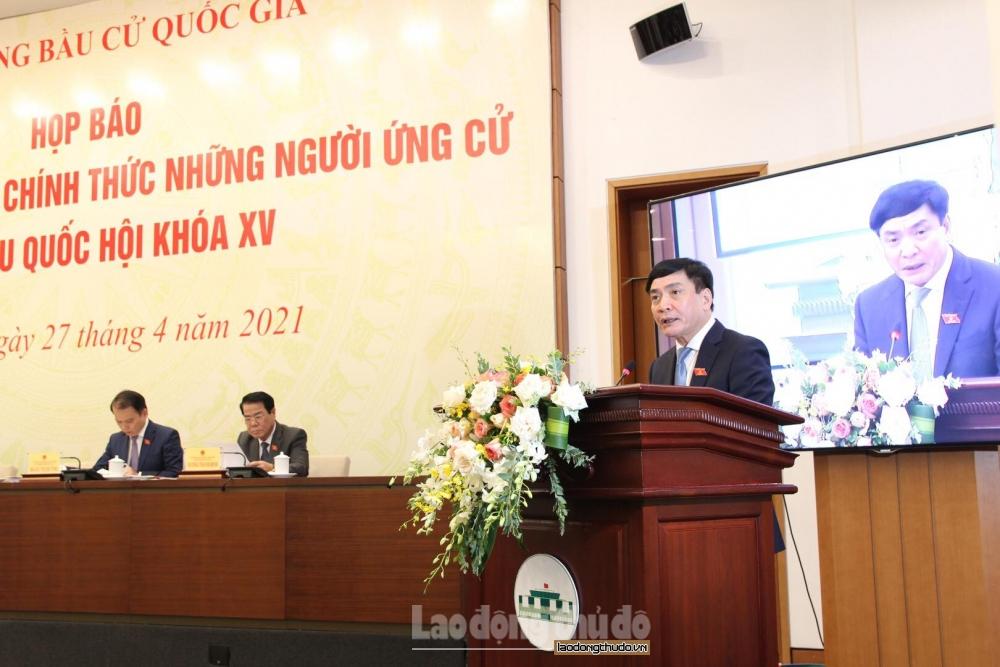 Hà Nội có 18 người ứng cử đại biểu Quốc hội khóa XV là nữ