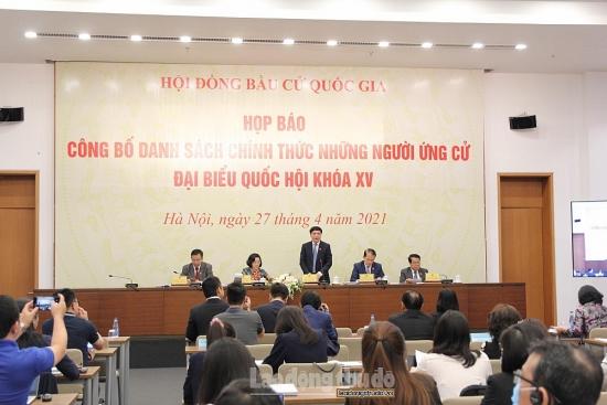 Thành phố Hà Nội có 3 người tự ứng cử đại biểu Quốc hội khóa XV
