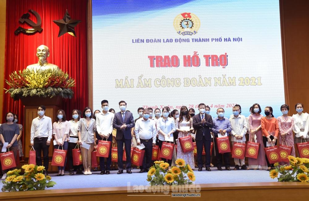 Các cấp Công đoàn quận Thanh Xuân tích cực chăm lo, bảo vệ quyền, lợi ích chính đáng cho người lao động