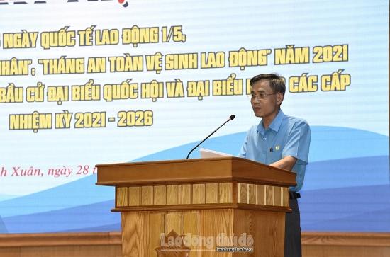 Nhiều hoạt động thiết thực trong Tháng công nhân năm 2021