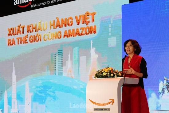 Thương mại điện tử xuyên biên giới: Xuất khẩu hàng Việt ra thế giới cùng Amazon
