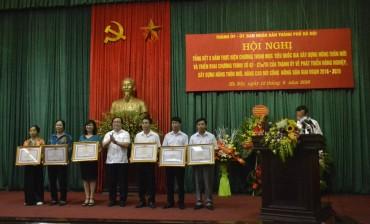 Hà Nội tổng kết 5 năm chương trình nông thôn mới