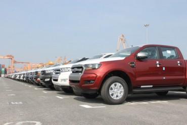 Có 746 xe ô tô nguyên chiếc được nhập khẩu tuần qua