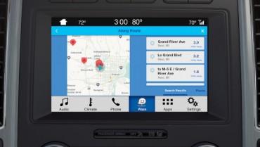 Ford tích hợp thông tin giao thông, dẫn đường Waze vào SYNC 3
