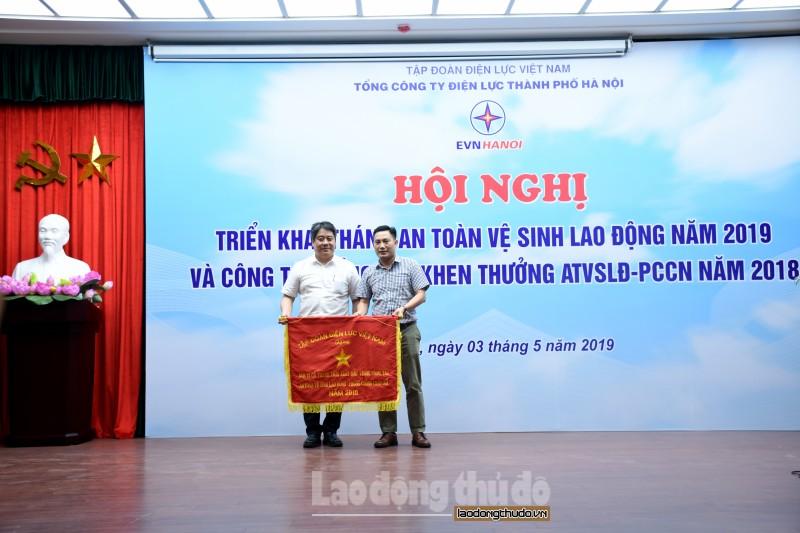 EVN Hà Nội triển khai Tháng an toàn vệ sinh lao động năm 2019