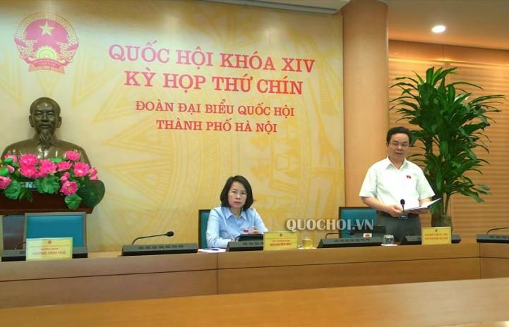 Đại biểu Hoàng Văn Cường (đoàn Hà Nội): Cần thiết tiếp tục miễn giảm thuế sử dụng đất nông nghiệp