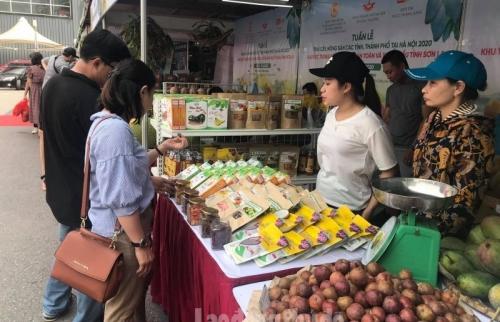 17 tỉnh, thành tham gia Tuần hàng trái cây, nông sản Hà Nội năm 2020